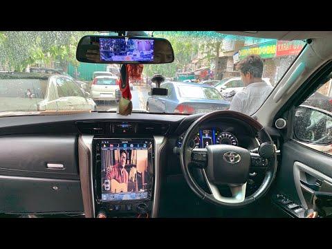 Installed Tesla Type Stereo Inside New Fortuner | 2016 Toyota Fortuner | Dash Cam Inside Fortuner