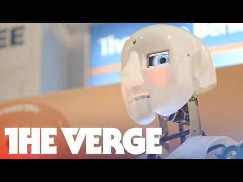 Anthropomorphism in robots (CES 2014)