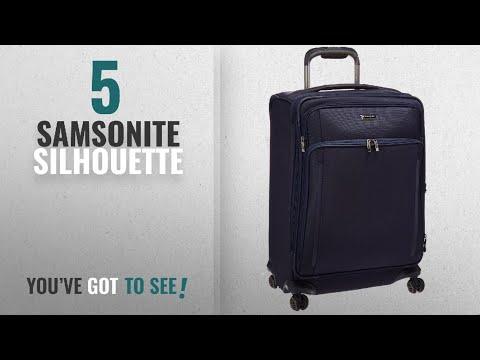 Top 10 Samsonite Silhouette [2018]: Samsonite Silhouette Xv Softside Spinner 25, Twilight Blue