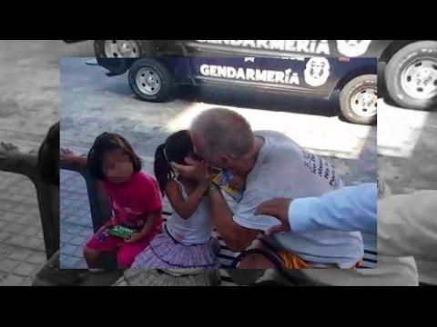 Captan a pedоfilo anciano besando a niñas con consentimiento de sus padres en Acapulco 2016