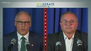 Analysis of Washington governor's debate between Gov. Jay Insee and Loren Culp