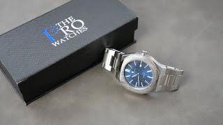 SAPPHERO Uhr    Designmix aus Royal Oak und Nautilus für unter 40€