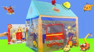 Feuerwehrmann Sam Unboxing: Neue Feuerwehrautos Überraschungen & Spielzeugautos für Kinder deutsch