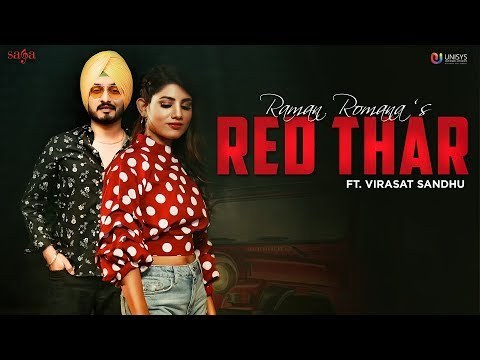 Red Thar (Official Video) - Raman Romana Ft. Virasat Sandhu | Jaggi Jagowal | Latest Punjabi Songs