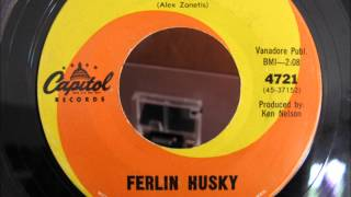 Ferlin Husky, Just Another Lonely Night, Capitol 4721, 1962(?), 45 single