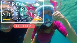 LifeinourVan go Snorkelling in Croatia