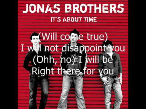 11. Please Be Mine (It's About Time) Jonas Brothers (HQ + LYRICS)