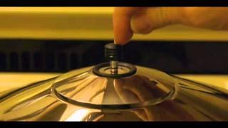 "Kuhn Rikon Duromatic ""braiser"" pressure cooker, water loss test"