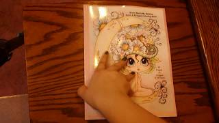 Sherri Baldy My Besties Moon And Stars Coloring Book Review Flipthrough