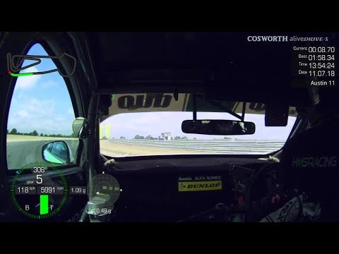 Save of the day Snetterton Dunlop test 2018