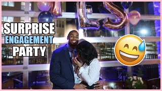 My Best Friends Threw Me A SURPRISE Engagement Party! 💍🎉