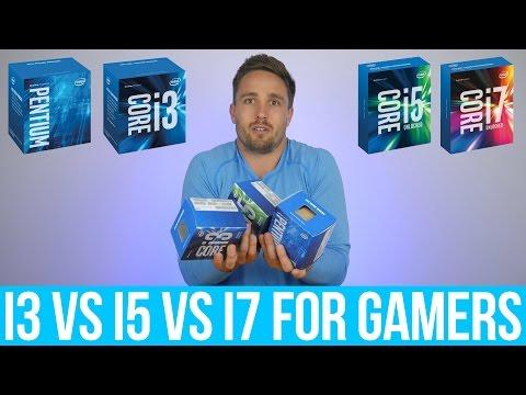 Intel Pentium vs.  Core i3 vs.  Core i5 vs.  Core i7 – What do Gamers get by spending more?