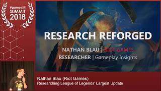 Researching League of Legends' Largest Update