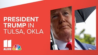 President Donald Trump rally in Tulsa | Happening now