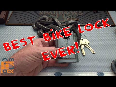 (910) World's Toughest Motorcycle Lock