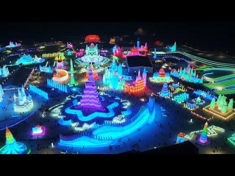 הפסטיבל הבינלאומי לפיסול בקרב ושלג בסין 2019
