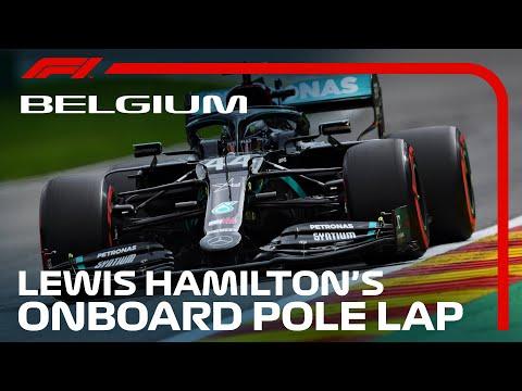 【動画】スパ・フランコルシャンでポールポジションを獲得したルイスハミルトンのオンボード映像。F1 2020 第7戦ベルギーGP