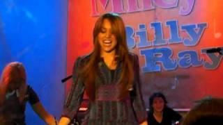 Miley Cyrus doing the hoedown throwdown-Good Morning America 4/8/09