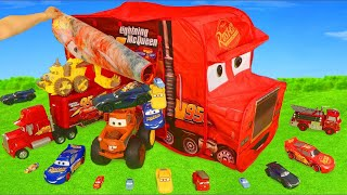 Cars Toys Surprise: Lightning McQueen Toy Vehicles & Fire Truck Assembling for Kids