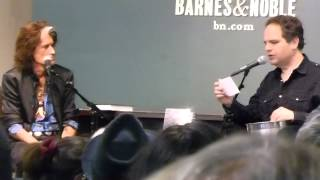 JOE PERRY Aerosmith BOOK Release ROCKS Q & A in Barnes & Noble NY Oct 7,2014 Part 2