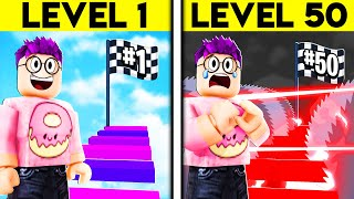 Can We Beat This OBBY That Gets HARDER The LONGER YOU PLAY IT?! (ROBLOX DIFFICULTY CHART OBBY!)