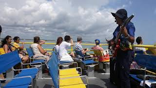 preview picture of video 'De Cancún a la Isla Mujeres'