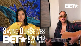 "Jhene Aiko And H.E.R. Serenade Us With Performance Of ""B.S."" 