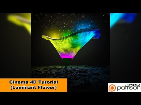 Luminant Flower (Cinema 4D Tutorial)