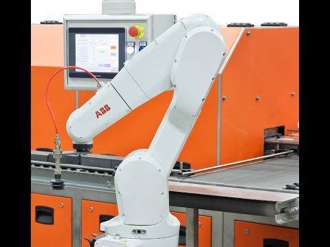 Anthropomorphic Robot for precious metal ingot handling