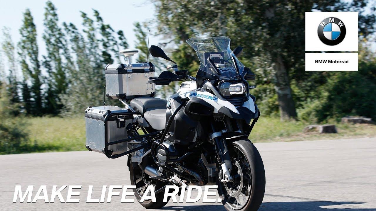 В BMW создали беспилотный мотоцикл для испытания новых систем безопасности