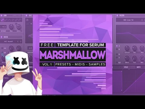 Marshmello Inspired Future Bass Sounds & Serum Presets