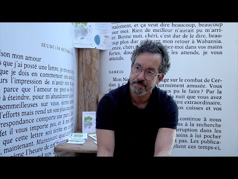 Vidéo de Bernardo Carvalho