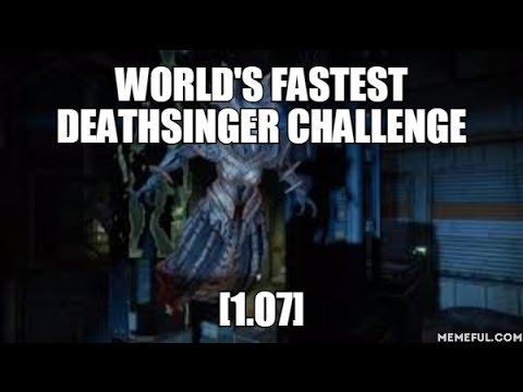 Destiny – World's Fastest Deathsinger Challenge [1.07]