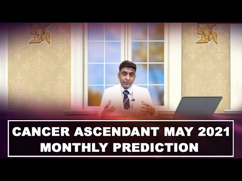 CANCER ASCENDANT MAY 2021 MONTHLY PREDICTION { IN ENG & HINDI } BY #AMITKAPOOR