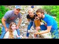 Real Explosives! Treasure Hunt Search For The Bandits Cash With That YouTub3 Family The Beach House