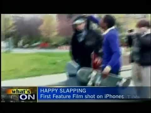 Happy Slapping on the News