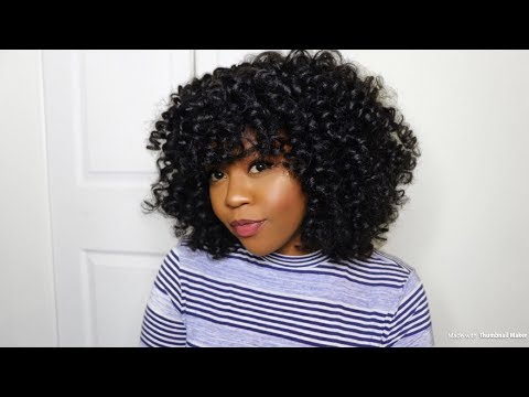 Most Natural Looking Curly Crochet Braids Tutorial Mane Concept