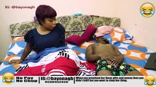 LOVE GOES WRONG (NO MONEY NO CHOP) - YOOYO COMEDY - EPISODE 34(Latest Ghanaian Comedy)