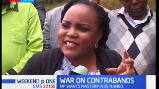 Kirinyaga Women rep Wangui Ngirichi demands CS Matiang'i to list people behind contraband sugar