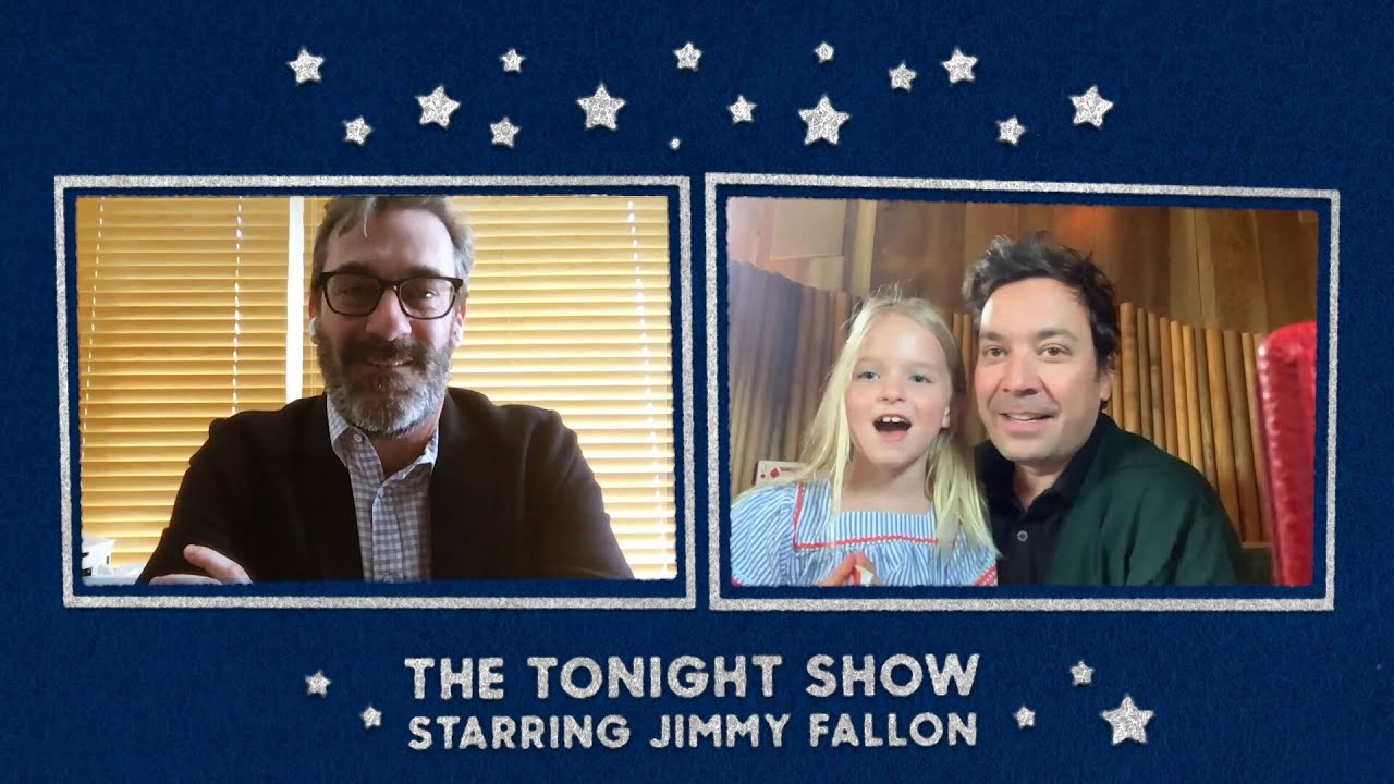 Jimmy's Daughter Crashes Jon Hamm's Interview and Schools Him on Animals thumbnail