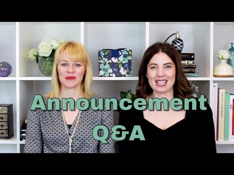 Announcement and answering your questions | The Perfume Pros