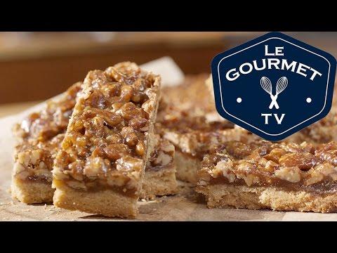 Pecan Pie Bars – Recipe – LeGourmetTV