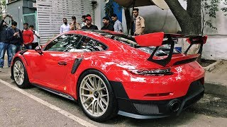 Indian Supercar Collector Unveils New Porsche 991 GT2 RS + First Time on the Road