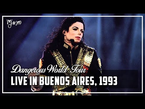 LIVE IN BUENOS AIRES, 1993 - Dangerous World Tour (Full Concert) [60FPS] | Michael Jackson
