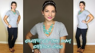 Outfit of the Day ::  Office Chic
