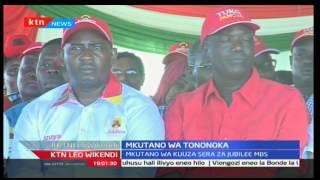 Rais Uhuru Kenyatta aongoza mkutano wa kuuza sera za Jubilee