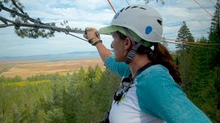 Grants Getaways:  Crater Lake Zipline