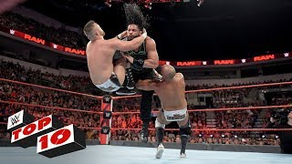Top 10 Raw moments: WWE Top 10, July 2, 2018