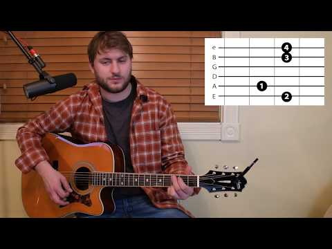Kinda Don't Care - Justin Moore - Guitar Lesson - Beginner / Intermediate - Intro / Verse / Chorus Mp3
