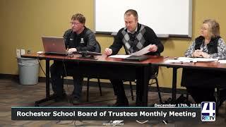 Rochester School Board - 12-17-18